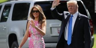 Donald y Melania Trump no irán a evento anual en el Centro Kennedy
