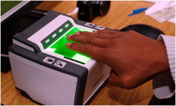 Resultado de imagen de registro biométrico