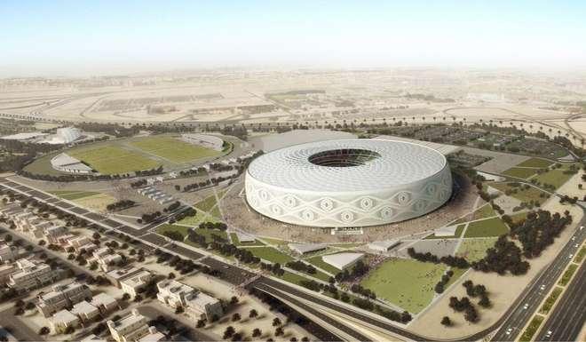 Así se verá desde el exterior el estadio Al Thumama.