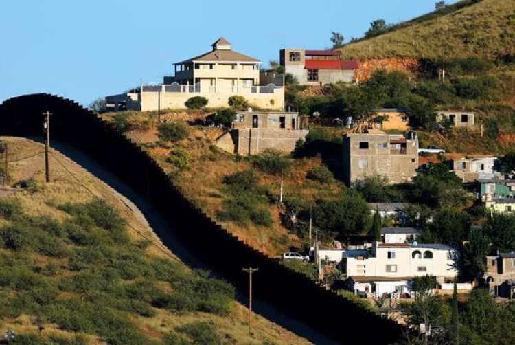 Habitaciones de Nogales, en México, en el limite con Arizona(REUTERS/Mike Blake)