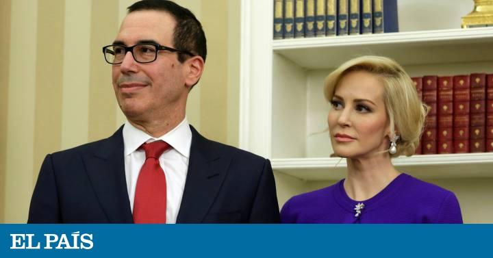 Esposa de secretario del Tesoro presume riqueza y arden las redes