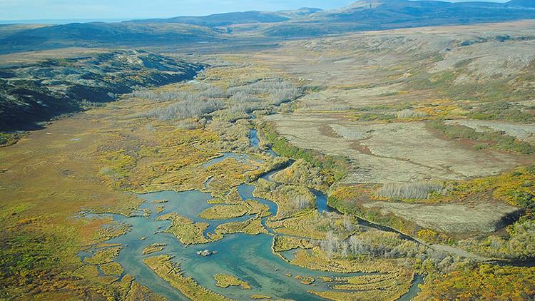 Cómo se derrite el permafrost de Alaska y preocupa a los científicos (FOTO)