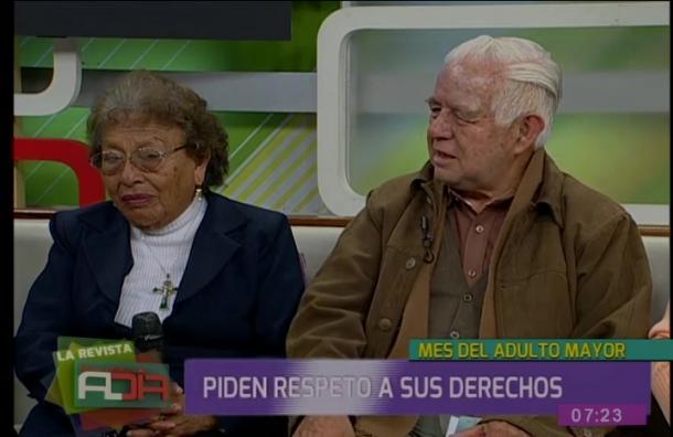 Adultos mayores piden que respeten sus derechos