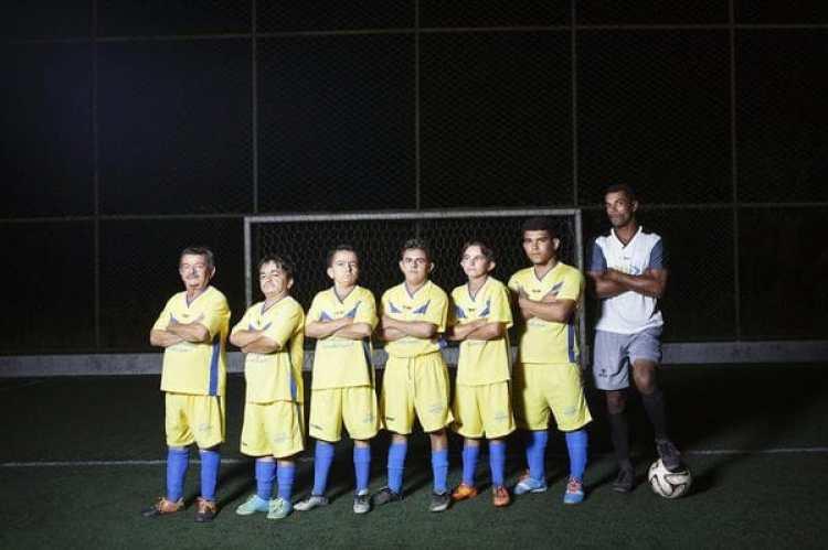 Jugadores de fútbol de Itabaianinha.