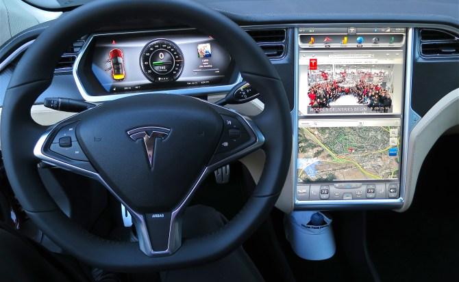 El servicio de streaming de Tesla se deja ver por primera vez