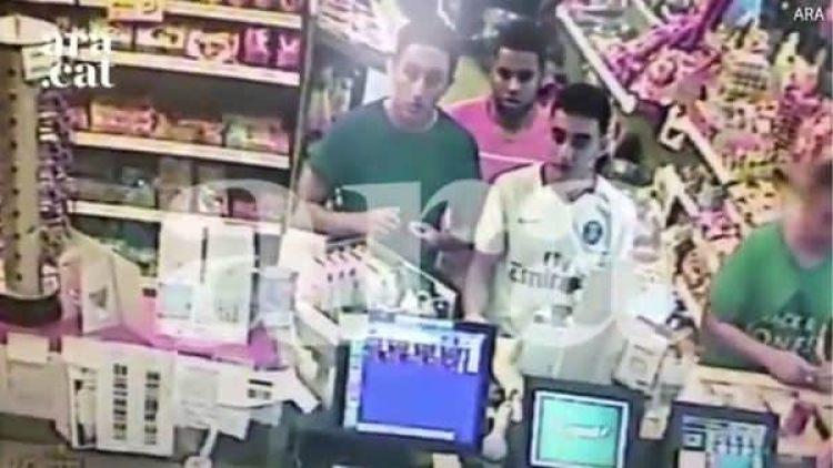 La imagen de los terroristas que atacaron en Cambrils