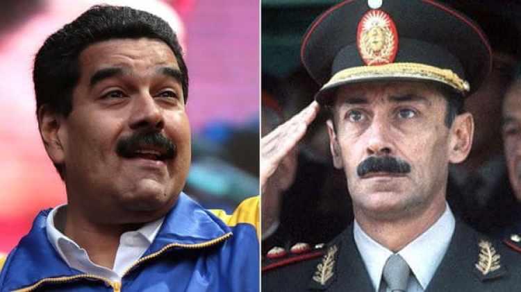 Nicolás Maduro y Jorge Rafael Videla
