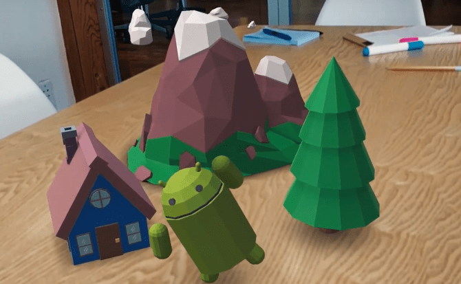 Google contraataca con su respuesta a la realidad aumentada de Apple