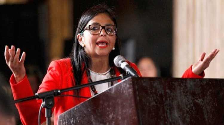 Delcy Rodríguez, presidente de la Asamblea Constituyente (AP)