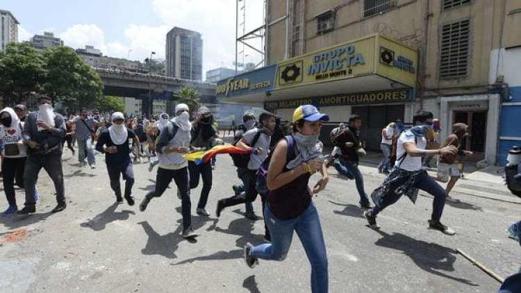 El régimen de Nicolás Maduro persigue a todo opositor (EFE)