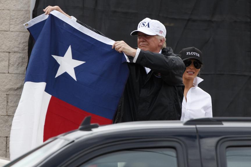Donald Trump Melania Trump Texas