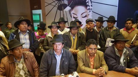 Conferencia de prensa del Gobernador y representantes de Río Abajo.
