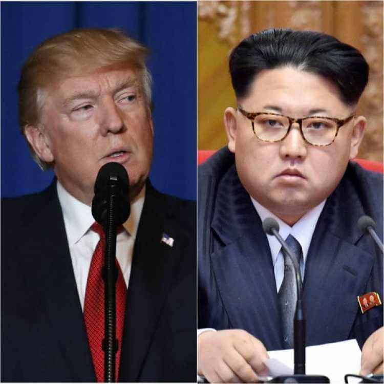 Las tensiones crecieroncon las declaraciones de Donald Trump tras las amenazas de Kim Jong-un.