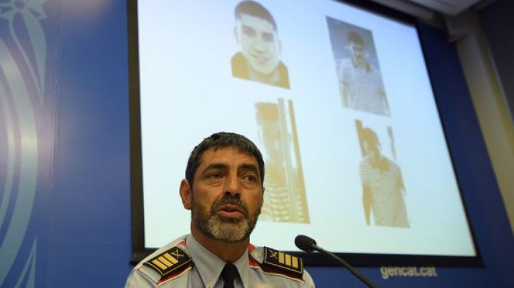 """""""Nosotros nos dedicamos a velar por la seguridad y El Periódico a desprestigiarnos"""", dijo Trapero (AFP)"""