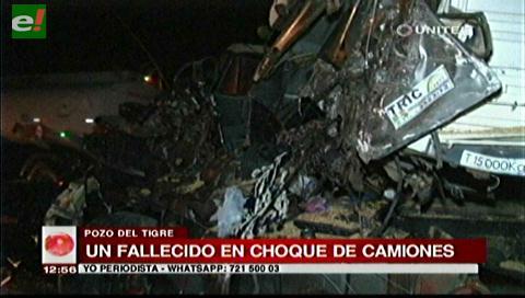 Fatal accidente en la zona Pozo del Tigre