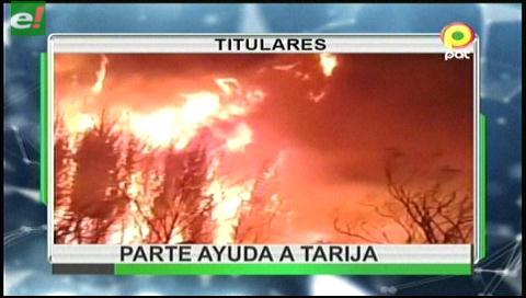 Video titulares de noticias de TV – Bolivia, noche del viernes 11 de agosto de 2017