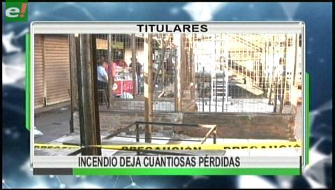 Video titulares de noticias de TV – Bolivia, noche del miércoles 23 de agosto de 2017