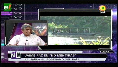 Jaime Paz propone a Evo aplicar la Economía Verde para salvar el Tipnis