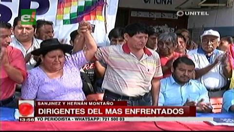 Dirigentes del MAS están enfrentados en Santa Cruz