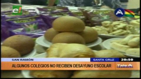 San Ramón sin desayuno escolar, piden investigar