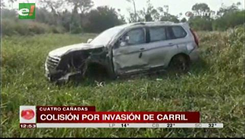 Hombre pierde la vida tras choque entre vehículo y trufi