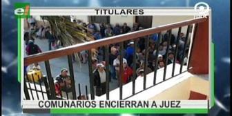 Video titulares de noticias de TV – Bolivia, noche del martes 15 de agosto de 2017