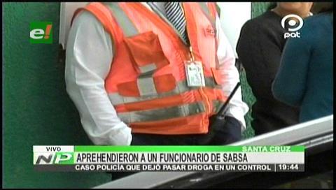 Santa Cruz: Aprehenden a un funcionario de SABSA