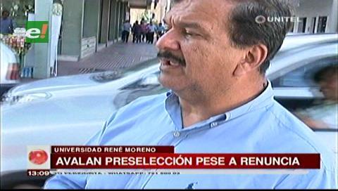 Elecciones judiciales: Decisión de Paniagua de retirarse del proceso de preselección fue personal