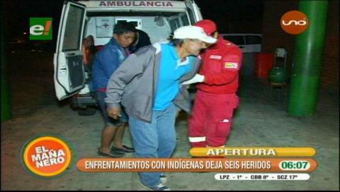 Enfrentamientos en la Cidob deja seis heridos