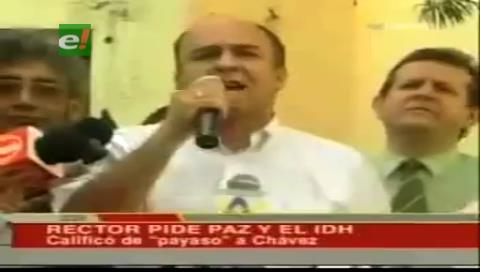 """Senador Murillo recuerda que el ministro Ferreira tildó de """"dictadorzuelo"""" a Chávez"""