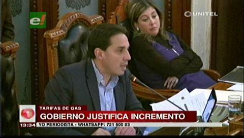 Ministro Guillen descalifica protestas por el incremento en tarifas del gas
