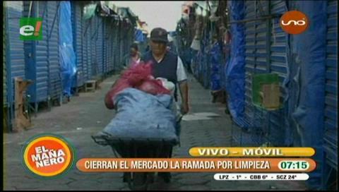 Cierran el Mercado la Ramada por limpieza