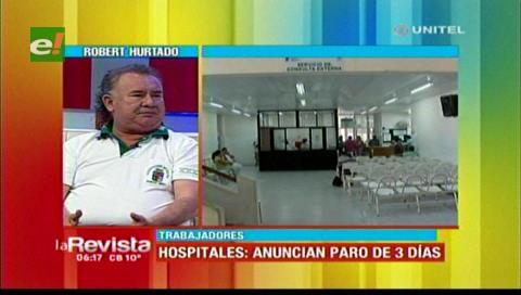 Trabajadores afirman que la Alcaldía cruceña rechazó el respaldo del Ministerio de Salud