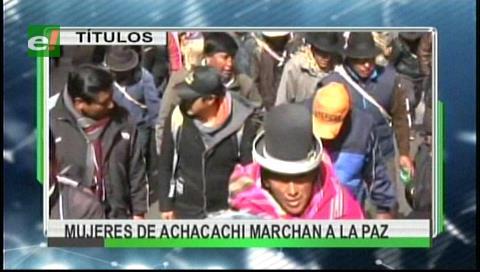 Video titulares de noticias de TV – Bolivia, mediodía del lunes 28 de agosto de 2017