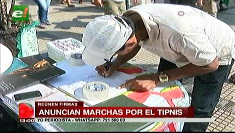 Corregidores rechazan la intención de construir una vía por medio del TIPNIS