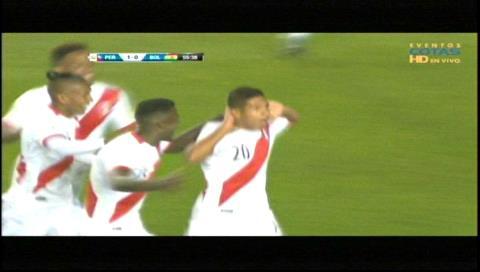Perú 2-0 Bolivia: Goles de Edison Flores y Christian Cuevas