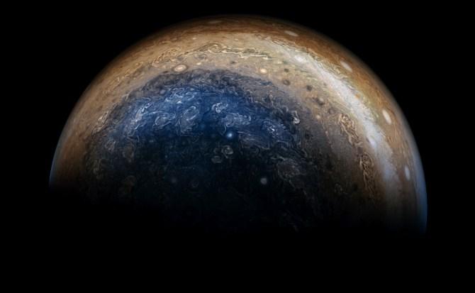 NASA comparte nuevas fotos de Júpiter tomadas por la sonda Juno
