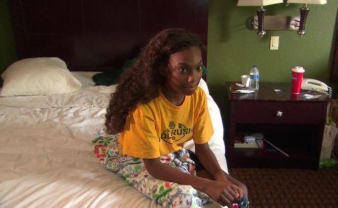 La niña enferma a la que Siri salvó de las inundaciones del huracán Harvey