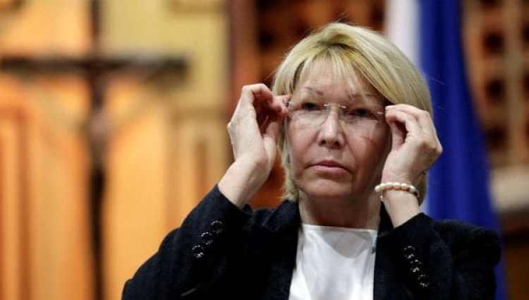 El destituida fiscal general de Venezuela Luisa Ortega Díaz