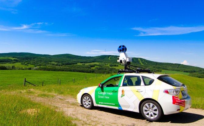 Las cámaras de Google Street View mejoran con inteligencia artificial