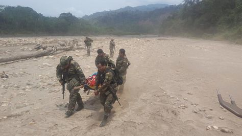Policía muere en fuego cruzado con narcotraficantes — La Paz