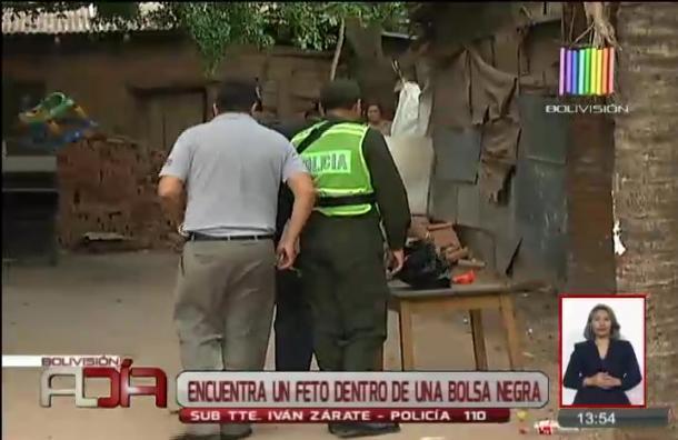 Localizan un feto dentro de una bolsa negra en barrio El Carmen