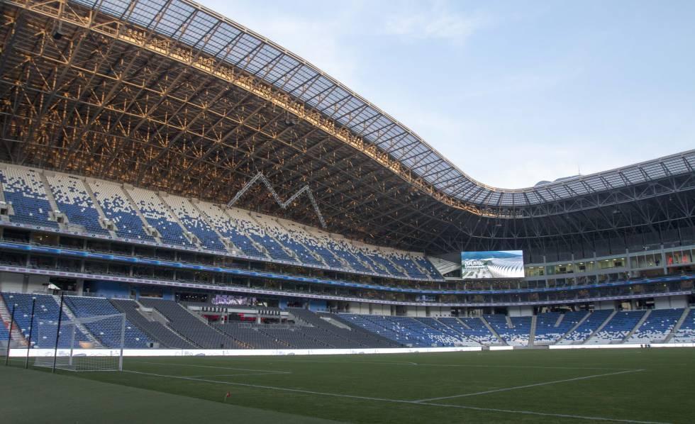 El estadio BBVA de Monterrey, en México.