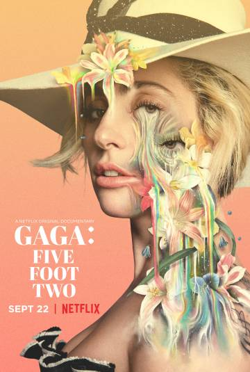 Cartel del documental de Lady Gaga.