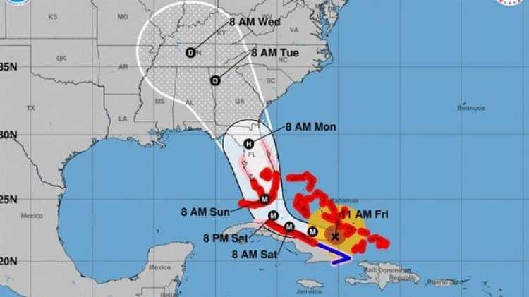 Pronóstico del Huracán Irma. Boletín de las 11 am – viernes 8