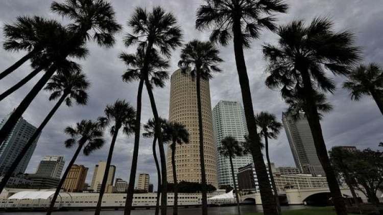 El cielo de Tampa