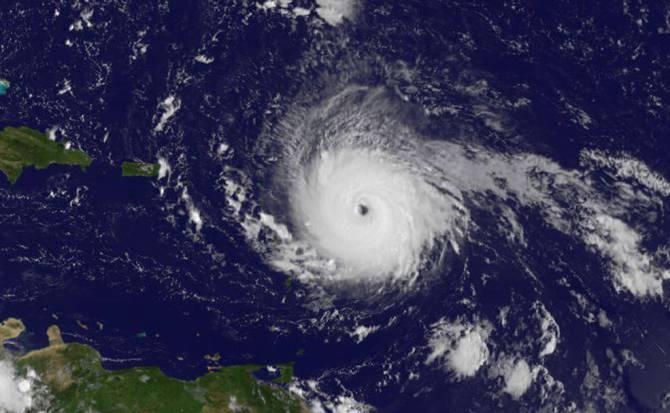 10 imágenes para entender la magnitud del huracán Irma