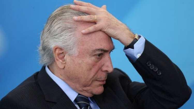 El presidente de Brasil Michel Temer (REUTERS)