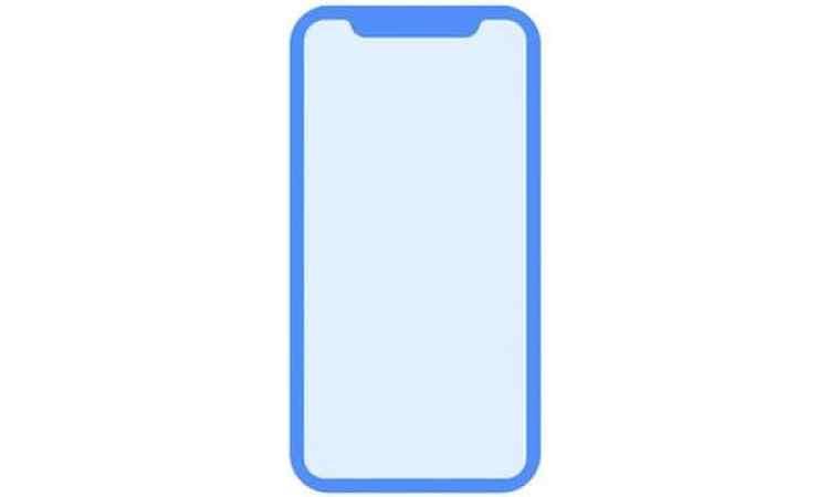 """El nuevo iPhone tendía el botón """"home"""" incorporado en la pantalla"""