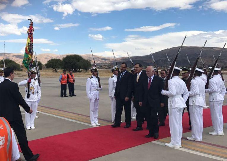 Primer Vicepresidente de Perú visitará Cochabamba por el Tren Bioceánico